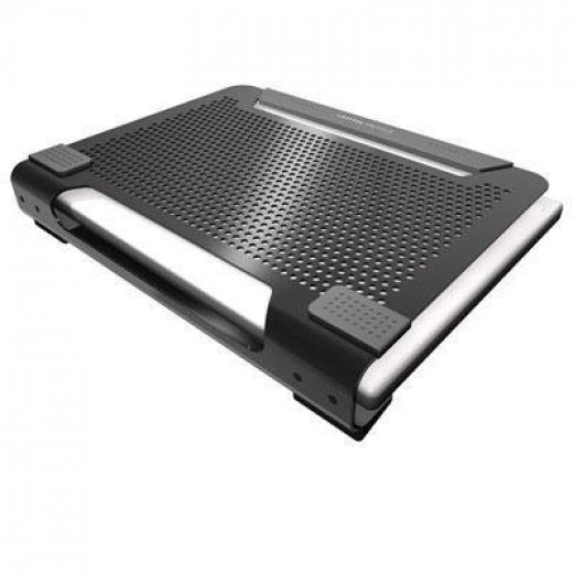 The NotePal U1 provides a chill pad for your notebook, minimizing the chances of damage to the machine due to overheating.  With a meshed design, it uses a 80 mm removable fan that can spin above 1500 RPM (950-1800 RPM) to dissipate the heat.