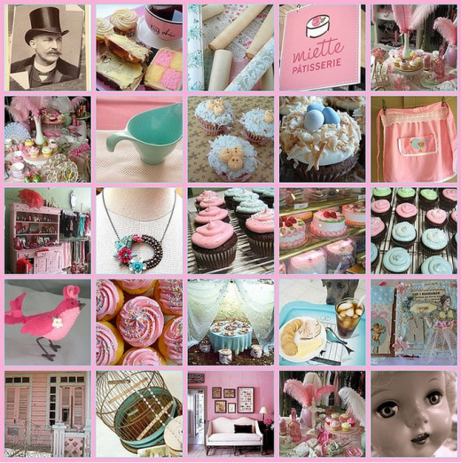 Cupcake Apron Pictures Collage