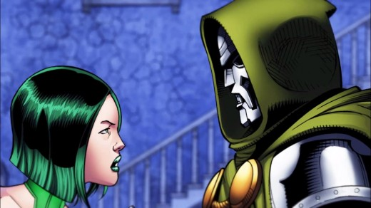 """I serve Hydra, but since you did set me free, I suppose I could do you a favor Doom."""