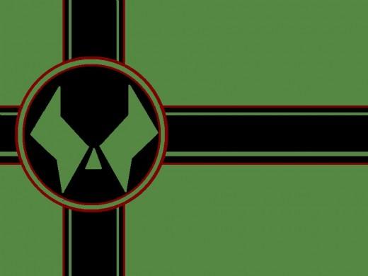 """It's the Latverian flag."""