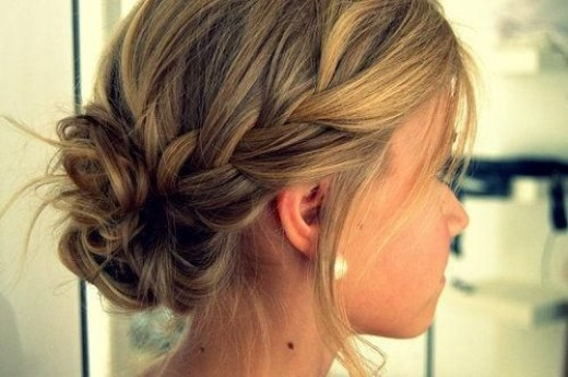 Go ahead and add a little french braid in there too.