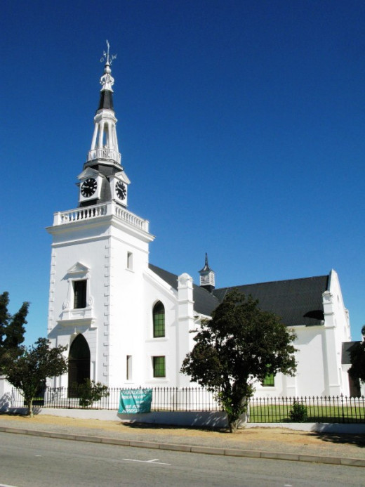 Hopefield, Dutch Reformed Church, West Coast, South Africa