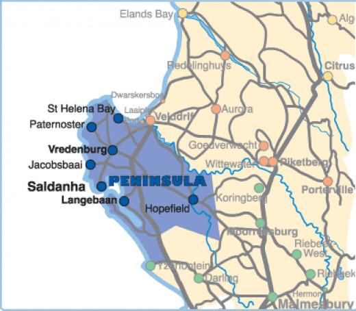 West Coast Peninsula, South Africa