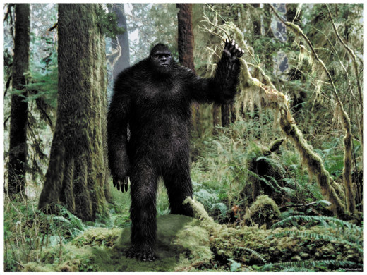 Bigfoot Standing Tall!!