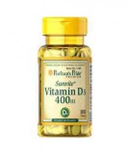 Vitamin D3 in 400IU dose - each softgel  is 400 IU. Lowest dose available, however most doctors order higher doses for therapeutic reasons