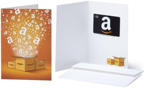 Amazon.com Gift Cards – In a Greeting Card – Free One-Day Shipping