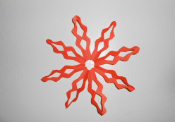 How to Make Paper Snowflakes with Eight Points:  Step By Step Instructions