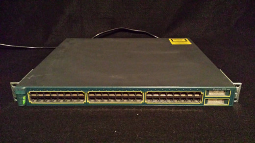 Full Frontal WS3550-48-EMI L3 Access Layer Switch