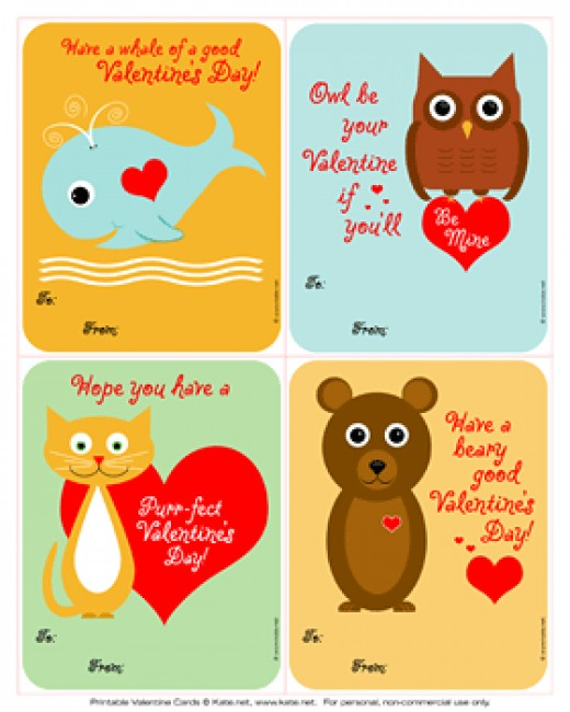 21 Easy Homemade Valentine Cards for School Exchange – Valentines Cards Print