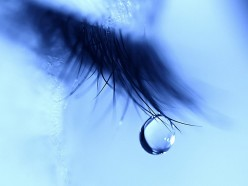 When was the last time tears rolled down your cheeks?