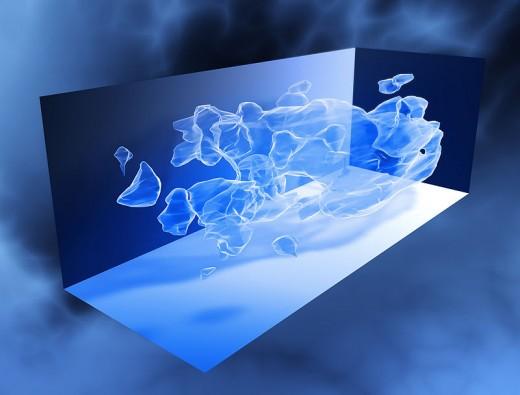 3d dark matter representation