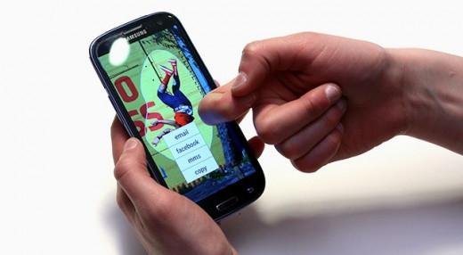 FingerSense on Galaxy S3