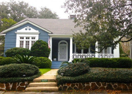 Adorable Dutch Colonial Revival in Flo Claire, an early subdivision of the Leinkauf Historic District