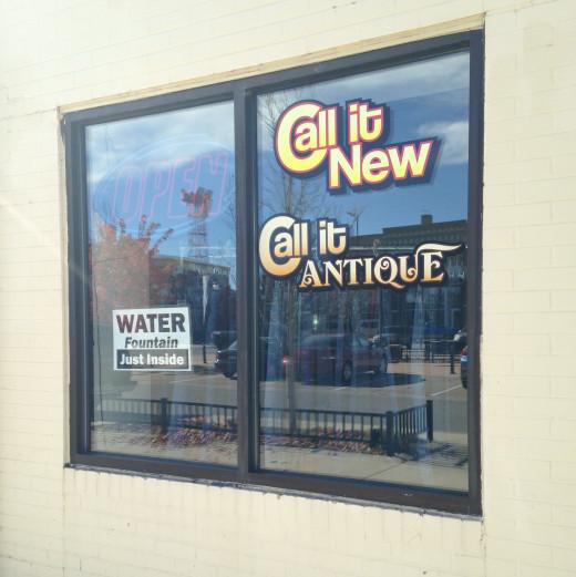 Unique Antique Shop