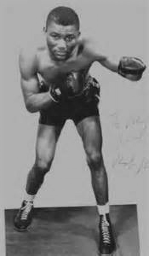 Ike Williams is the former 135 pound champion in the sport of boxing. Williams could box with skills or brawl with the best of them.