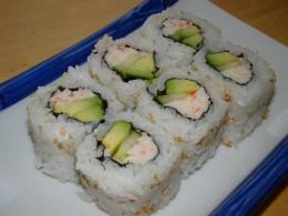 I love the california rolls!