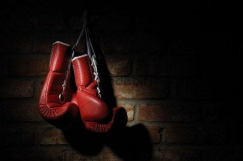 Boxing requires handwraps and gloves in order to protect the hands of the participants. Gloves for professional very from 8 to 12 ounces depending on the weight class.