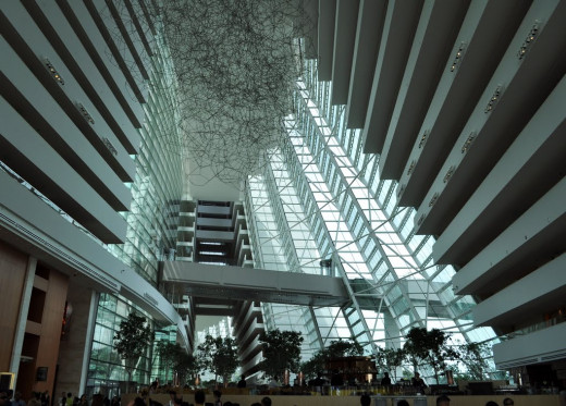 Interior of Marina Bay Sands