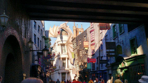 You first glimpse of Diagon Alley