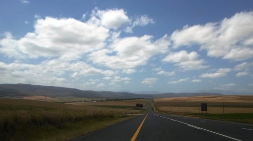Between Riviersonderend and Swellendam, Western Cape, South Africa