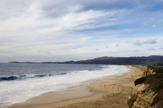Half Moon Bay State Beach, California