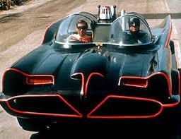 The original Batmobile designed by George Barris