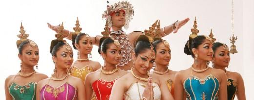 Sri Lankan dancing - awaits to entertain visitors