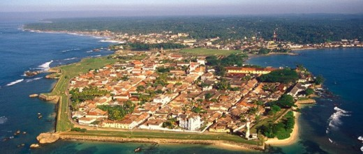 Galle Fort - Inheritance for foreign influence due to its strategic location in maritime industry