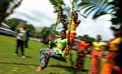 Sinhala New year - an event packed with joy, gatherings, harmony and traditional sports