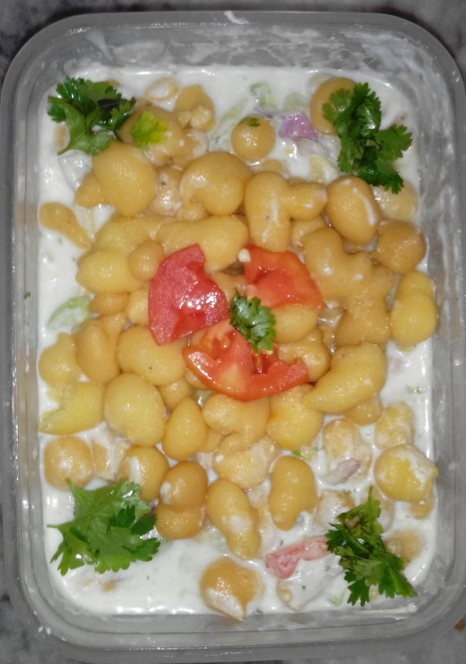 Potato Yogurt Salad