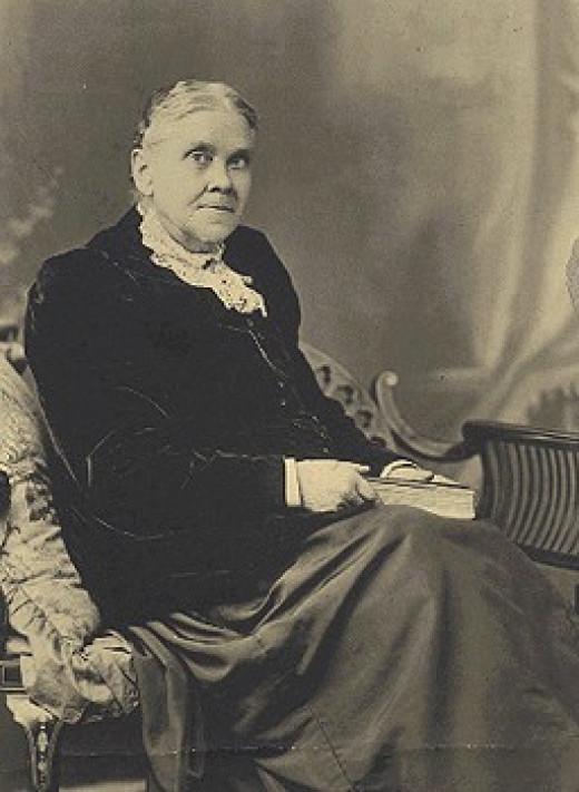 Ellen White in 1899.  Released to Public Domain