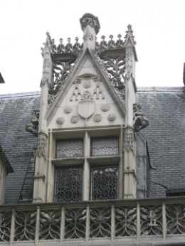 Beautiful Architecture of the Cluny/ Museum of the Middle Ages in Paris