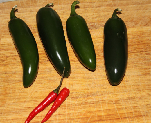 Photo 4: The peppers