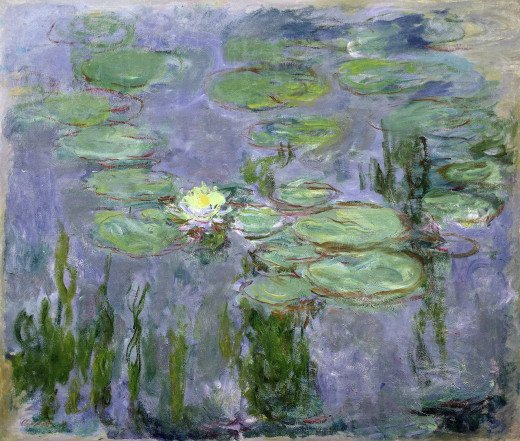 Nymphéas 1915 by Claude Monet