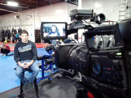 Live Interview -Gilbert Melendez at his Gym