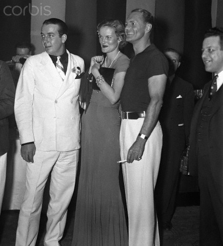 Uppity young men looking stylish at a gala ball