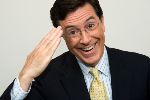 Keep doing you, Stephen Colbert.  We all believe in you.