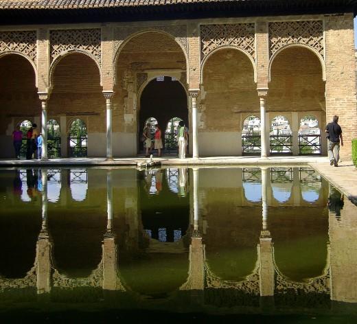 Detail in La Alhambra, Granada