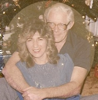 Our first Christmas together - December 1984