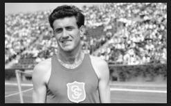 Zamperini in the Olympics