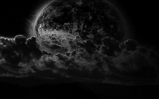 blanket of darkness