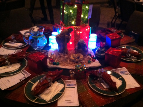3. Jesus Is Our Gift Dinner Table.