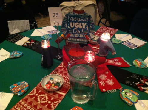 Ugly Sweater Table