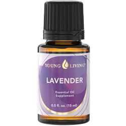 use lavender oil on the skin to make it smooth