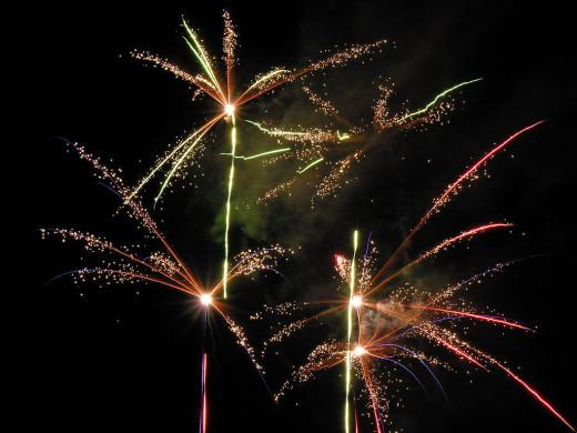 Lithuania Fireworks