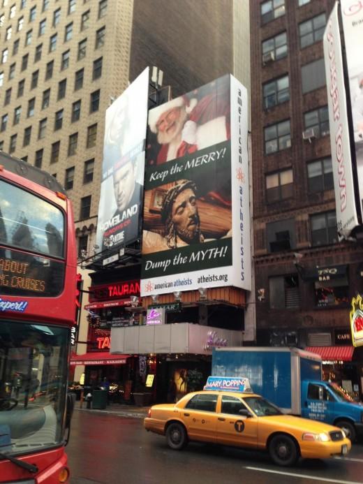 Billboard in Times Square