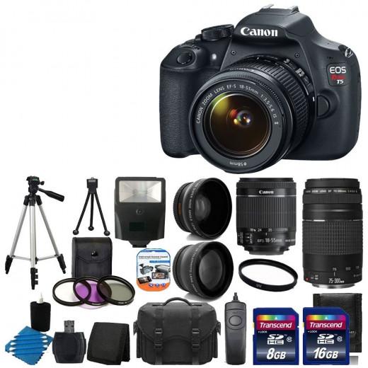Fabulous Digital Camera Package Set