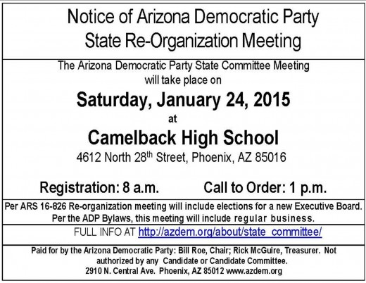 While, all Democrats are invited to attend;  ONLY  elected State Committee persons are allowed to vote on the new officers.  LD 21 has 11 State Committee persons.