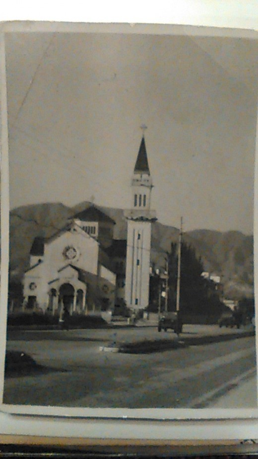 Saint Theresa's Church, Kowloon, Hong Kong 1946