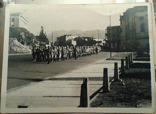 Japanese PoWs, Hong Kong, 1946